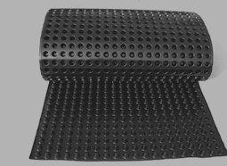 Dimpled membrane